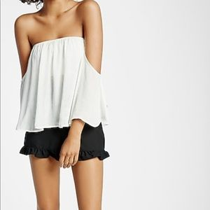 Express off shoulder top